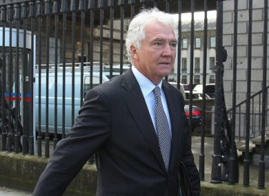 Former Anglo Irish Bank boss Sean FitzPatrick