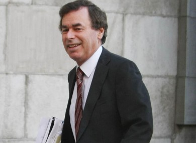 Alan Shatter has said the plan is one of his priorities in government