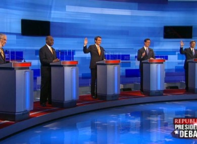 The candidates debated in South Carolina