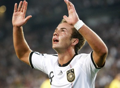 United target Goetze has been compared to Messi.