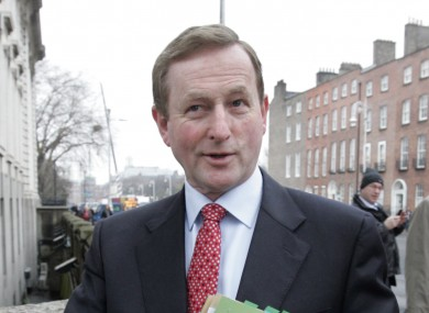 Enda Kenny will take command of the first cabinet meeting of the new term today - its first meeting in five weeks.