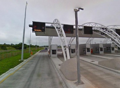 A tollbooth on the M3 in Co Meath