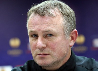 O'Neill is understood to have told the players of his departure.