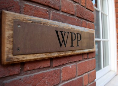 WPP's offices in Farm Street in London