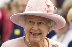 Royal gatecrasher: Queen drops in on wedding