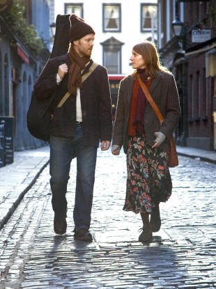 Glen Hansard and Marketa Irglova who starred in the movie Once