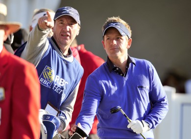 Luke Donald endured a tough opening round at the RBC Heritage
