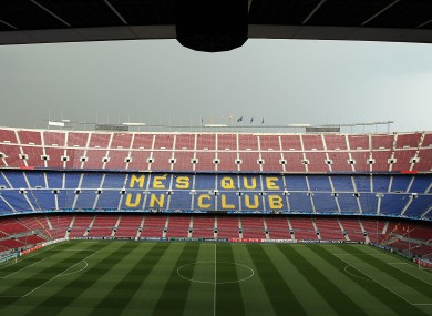 The Camp Nou awaits