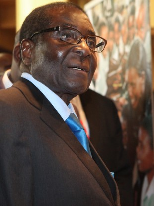 File photo of Robert Mugabe
