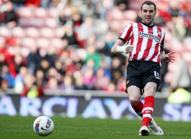Ireland defender John O'Shea is expected to return for Sunderland this weekend.
