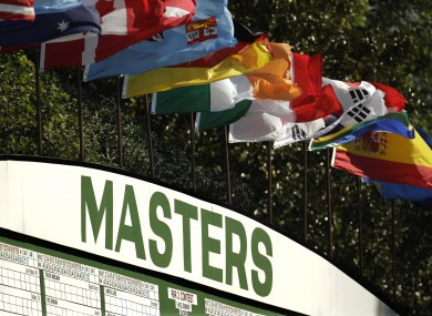 The Masters gets underway this Thursday.