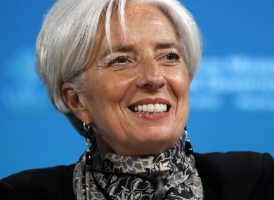Christine Lagarde has welcomed the news that the world's largest economies will be contributing €325bn in new funding to the IMF.