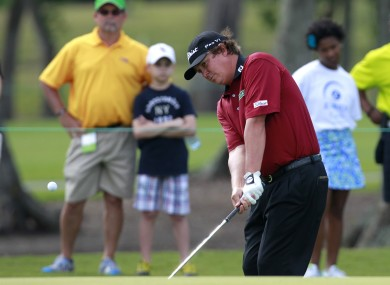 Jason Dufner: on the march.