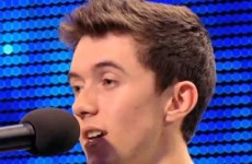 Irish man wows judges on Britain's Got Talent with ode to mystery girl