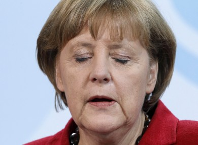 Angela Merkel (File photo)