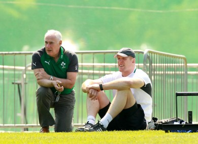 O'Connell and Mick Kearney last week.