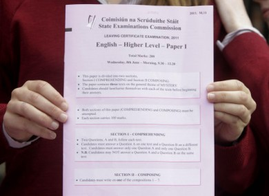 Leaving cert english essay answers
