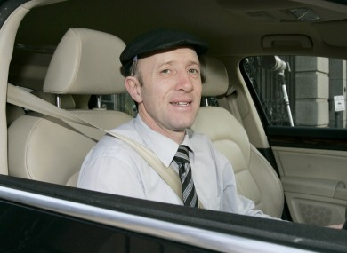 Michael Healy-Rae in his own car (File)