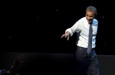 Obama mocks his own debate fiasco