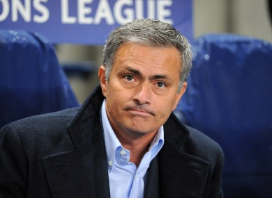 Mourinho has said tiredness was the main reason behind his side's loss to Betis.