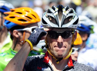 Lance Armstrong: won seven consecutive Tours de France during Verbruggen's reign.
