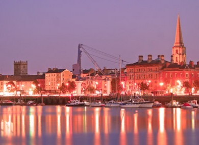The quays in Waterford city (File photo)