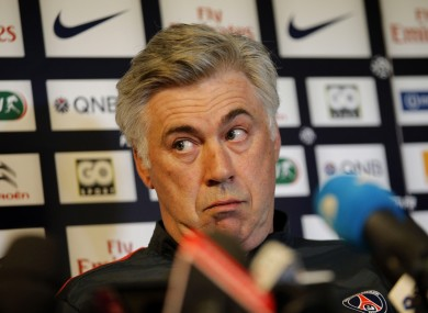 Ancelotti looks to be on his way out.