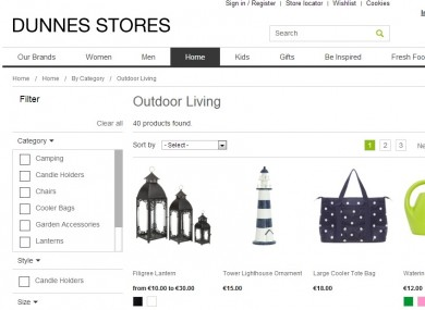 Shoppers can now buy Dunnes Stores wares online · Business ETC