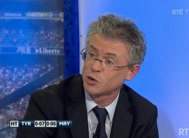 There were some hair-raising moments for Joe Brolly in today's semi final.