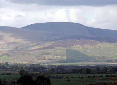 Part of the Wicklow mountains (File photo)