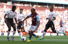 As it happened: Aston Villa v Liverpool, Premier League