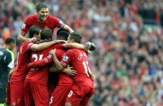 As it happened: Liverpool v Stoke, Barclays Premier League