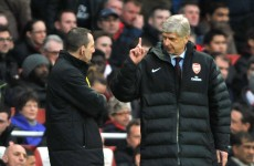 Arsenal fans are brainwashed to be negative, says Wenger