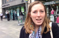 Video: Reaction on the street to the Dublin Bus strike