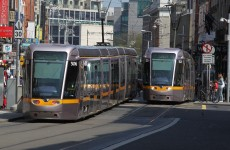 Fire on Luas Red Line disrupts services from Red Cow