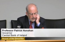 Honohan: Banks threatened repossession in 62 per cent of 'sustainable solutions'