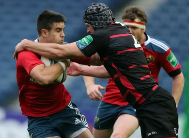 Munster lost 29-23 to Edinburgh at Murrayfield yesterday.