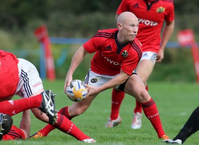 Munster legend Peter Stringer is going strong in the Premiership.