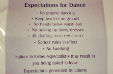 Schools force students to sign anti-twerking contract