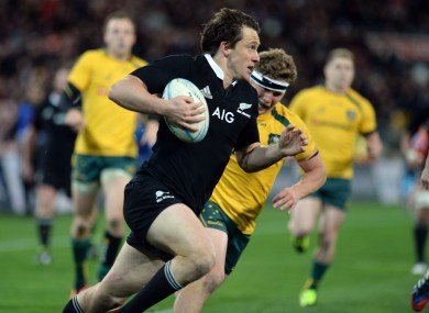 Ben Smith has been scoring prolifically for the All Blacks.