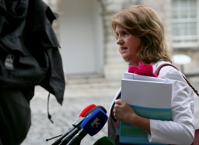 Social Protection Minister Joan Burton