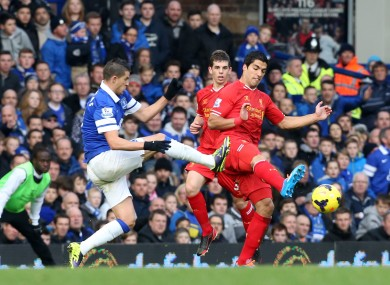 Mirallas catches Suarez on Saturday.