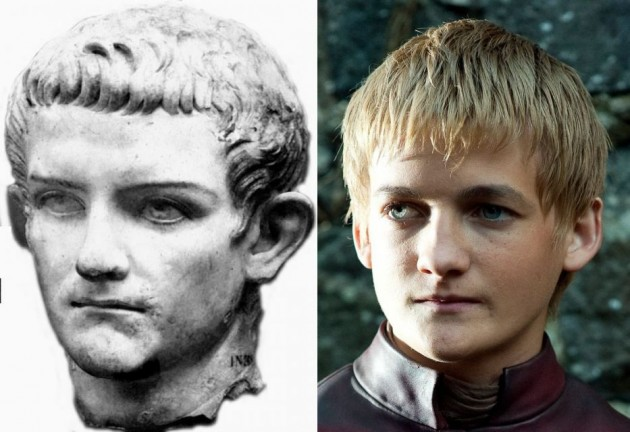 Caligula and Joffrey look alarmingly similar. - Imgur