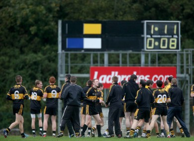 Crokes warm down: post-match routines were an alien concept when Flanagan started to work in the GAA.