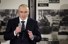 'A fight for power is not for me': Putin foe Khodorkovsky vows to stay away from Russia