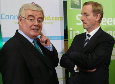 It wasn't always plain sailing for Eamon and Enda in 2013