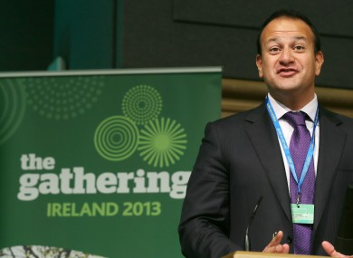 Minister Leo Varadkar is a happy man
