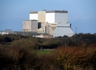 The existing facility at Hinkley Point