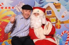 PIC: Michael Healy-Rae has had his visit to Santa, and here's what he asked for