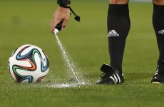 Vanishing spray to be used at World Cup, says Blatter